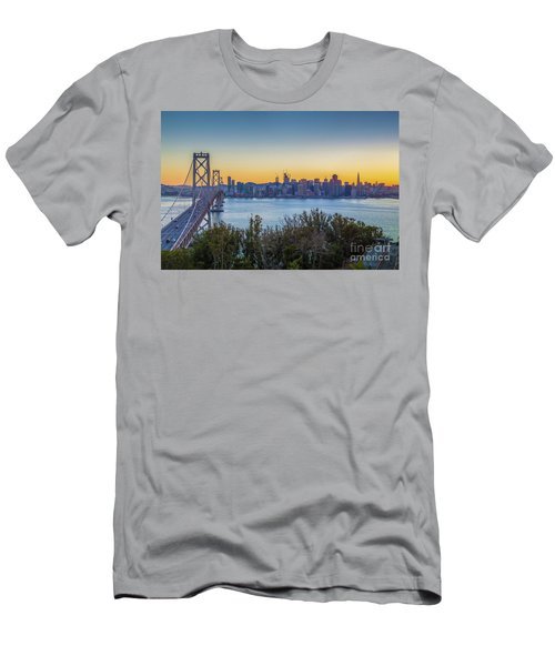 Treasure Island Sunset Men's T-Shirt (Slim Fit) by JR Photography