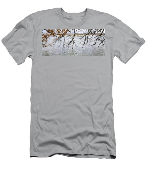 Tree Branches Over Lake Men's T-Shirt (Athletic Fit)