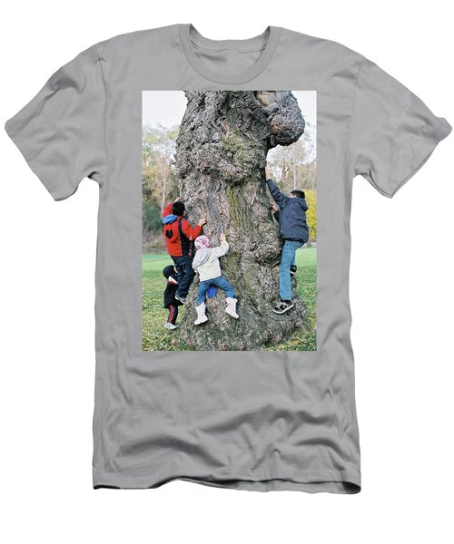 Tree Urchins Men's T-Shirt (Athletic Fit)