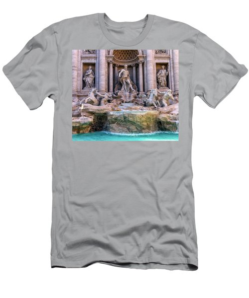 Trevi Fountain, Roma, Italy Men's T-Shirt (Athletic Fit)