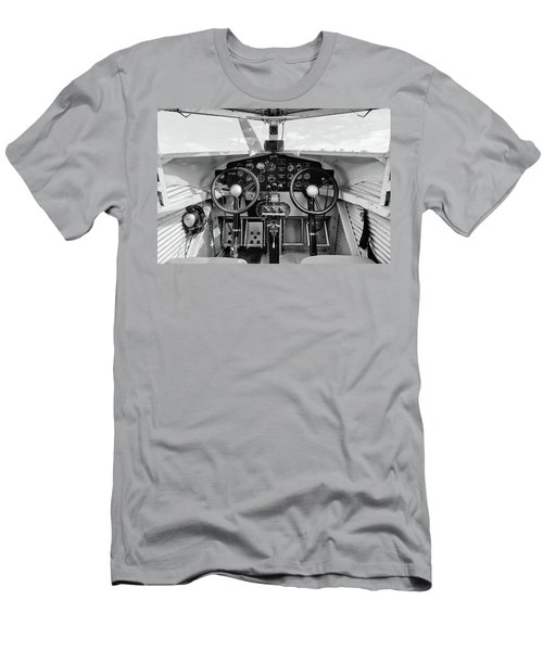 Tri-motor Cockpit - 2017 Christopher Buff, Www.aviationbuff.com Men's T-Shirt (Athletic Fit)
