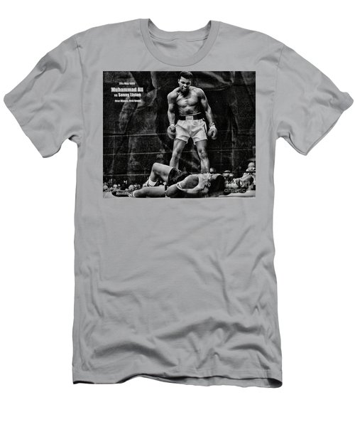 Trinity Boxing Gym Ali Vs Liston  Men's T-Shirt (Athletic Fit)