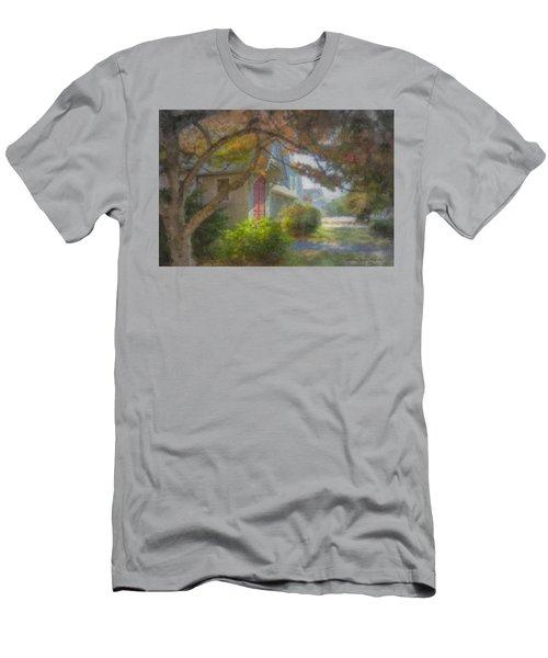 Trinity Episcopal Church, Bridgewater, Massachusetts Men's T-Shirt (Athletic Fit)