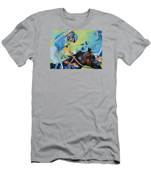 Triple Crown Champion American Pharoah Men's T-Shirt (Athletic Fit)