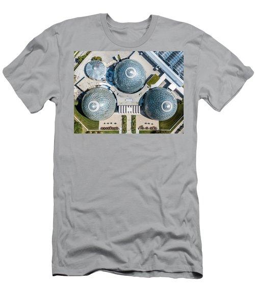 Men's T-Shirt (Athletic Fit) featuring the photograph Triple D Cups by Randy Scherkenbach