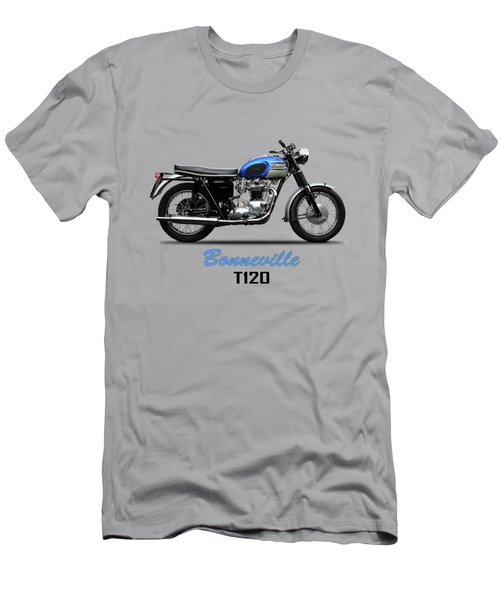 Triumph Bonneville T120 1965 Men's T-Shirt (Athletic Fit)