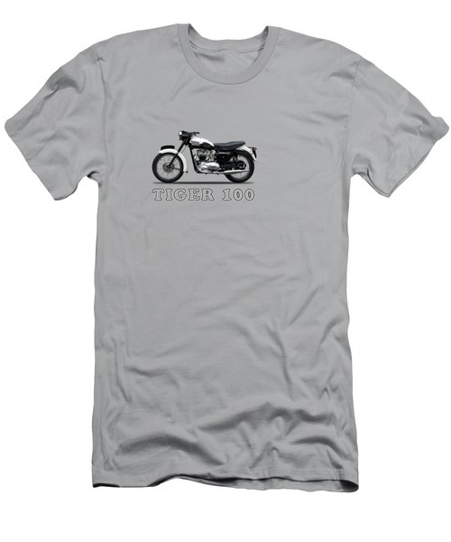Triumph Tiger 110 1959 Men's T-Shirt (Slim Fit) by Mark Rogan