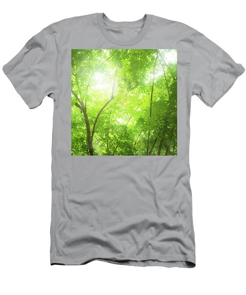 Tropical Forest Men's T-Shirt (Slim Fit) by Atiketta Sangasaeng