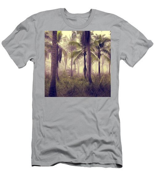 Men's T-Shirt (Athletic Fit) featuring the photograph Tropical Forest by Marianna Mills
