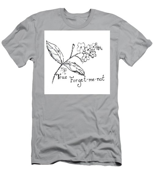 True Forget-me-not Men's T-Shirt (Athletic Fit)