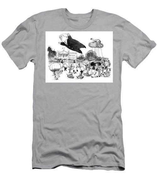 Trump Parade Men's T-Shirt (Athletic Fit)