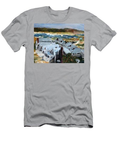 Roseville Beach Colony Men's T-Shirt (Athletic Fit)