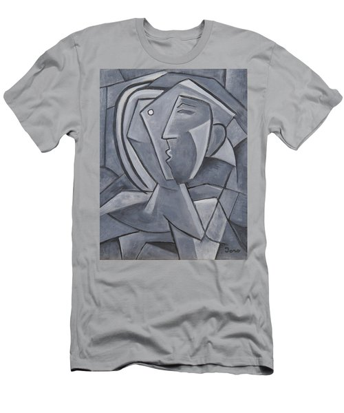 Tu Y Yo Men's T-Shirt (Slim Fit) by Trish Toro