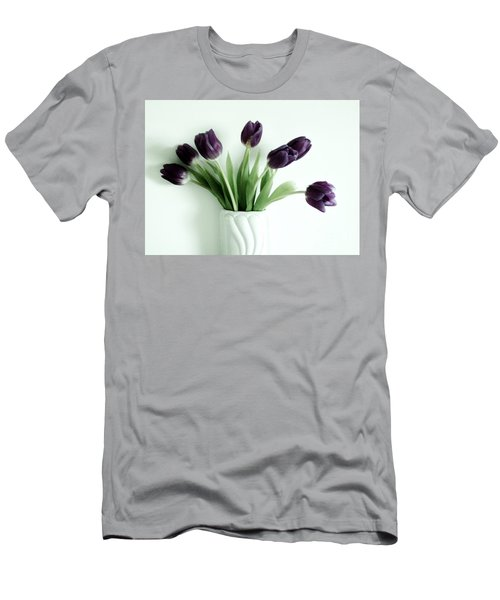 Tulips For You Men's T-Shirt (Slim Fit) by Marsha Heiken