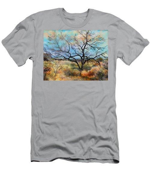 Tumbleweeds Men's T-Shirt (Slim Fit) by M Diane Bonaparte