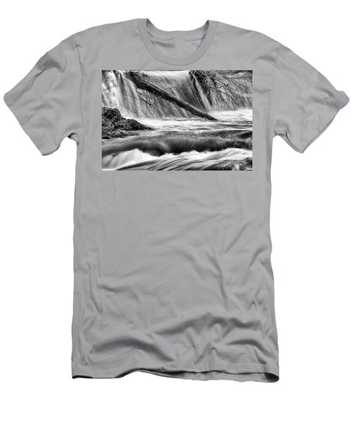 Tumwater Waterfalls#3 Men's T-Shirt (Athletic Fit)