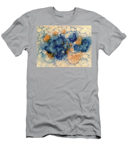 Men's T-Shirt (Athletic Fit) featuring the painting Tundra by Denise Tomasura