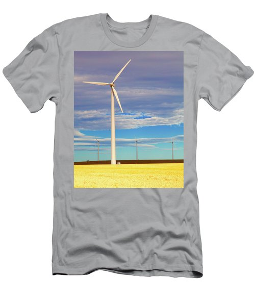Turbine Formation Men's T-Shirt (Athletic Fit)