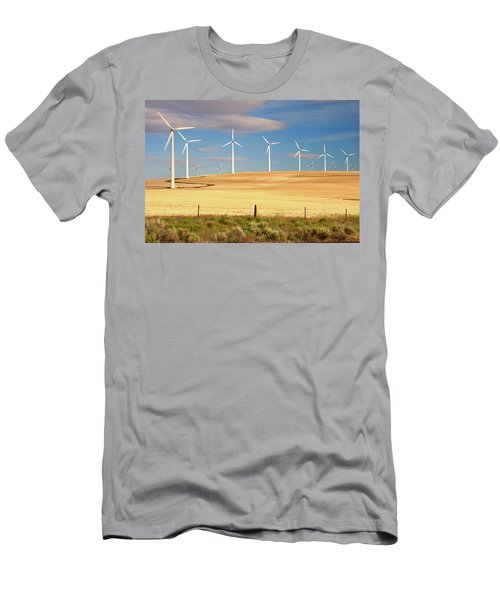 Turbine Line Men's T-Shirt (Athletic Fit)