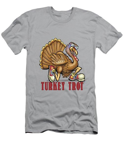 Turkey Trot Men's T-Shirt (Athletic Fit)
