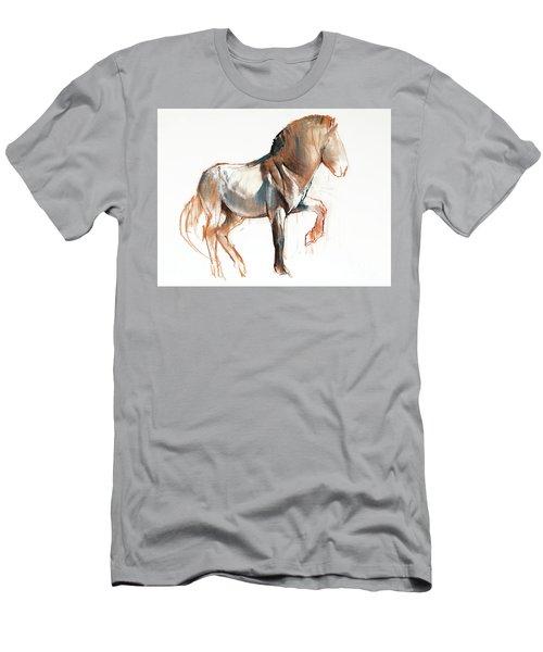Turning Przewalski Men's T-Shirt (Athletic Fit)