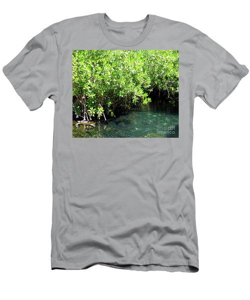 Men's T-Shirt (Athletic Fit) featuring the photograph Turtle Swim by Francesca Mackenney