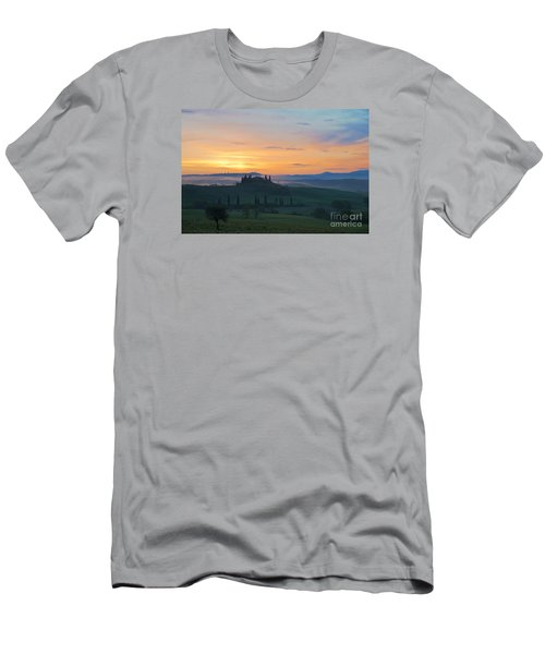 Men's T-Shirt (Slim Fit) featuring the photograph Tuscan Morning by Yuri Santin
