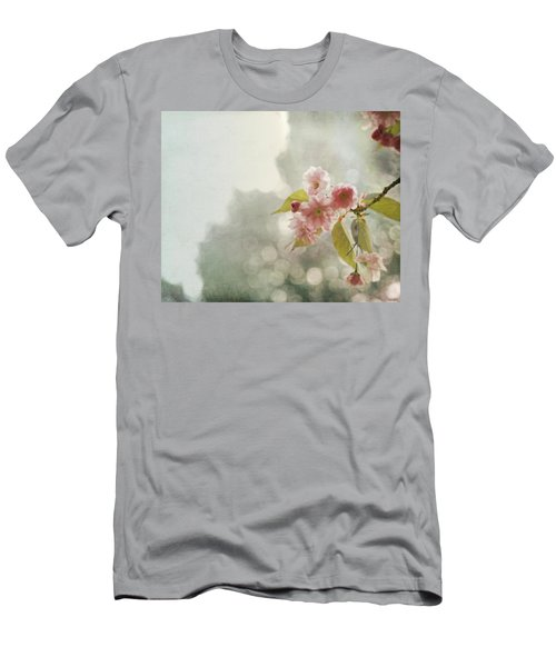 Men's T-Shirt (Slim Fit) featuring the photograph Twilight In The Garden by Brooke T Ryan