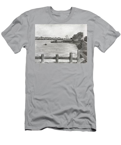 Twilight On Tomales Bay Men's T-Shirt (Athletic Fit)