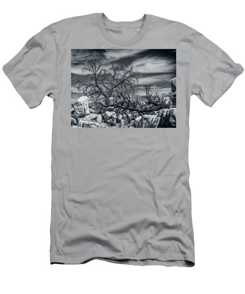 Twisted Branches Men's T-Shirt (Slim Fit)