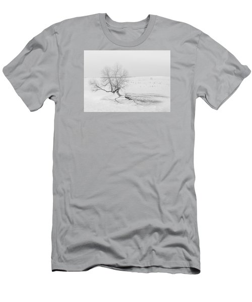 Men's T-Shirt (Slim Fit) featuring the photograph Twisted Tree by Dan Traun