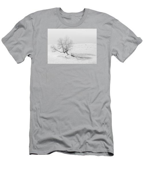 Twisted Tree Men's T-Shirt (Slim Fit) by Dan Traun