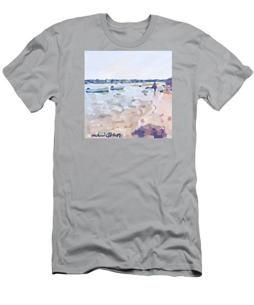 Two Boats At Ten Pound Island Beach Men's T-Shirt (Athletic Fit)