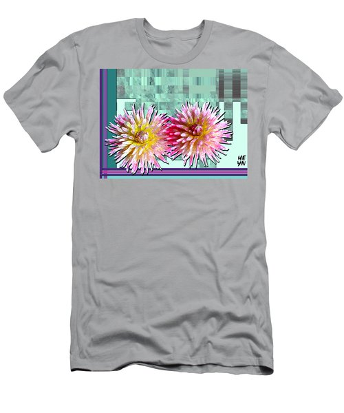 Two Dahlias Men's T-Shirt (Athletic Fit)