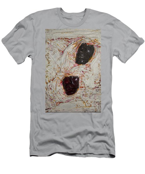 Two Faces Men's T-Shirt (Slim Fit) by Gallery Messina