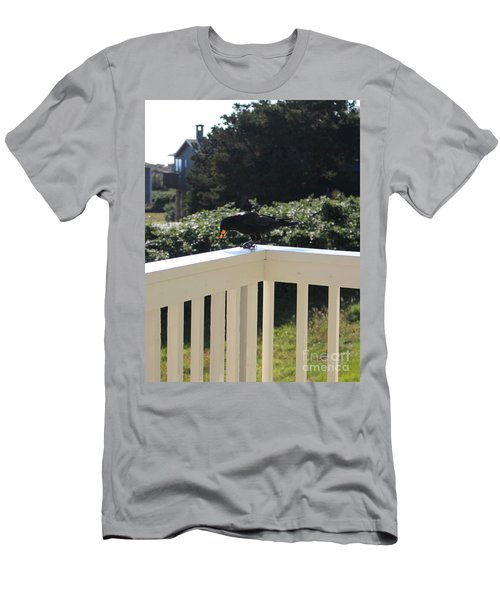 Men's T-Shirt (Athletic Fit) featuring the photograph Two In The Beak by Marie Neder