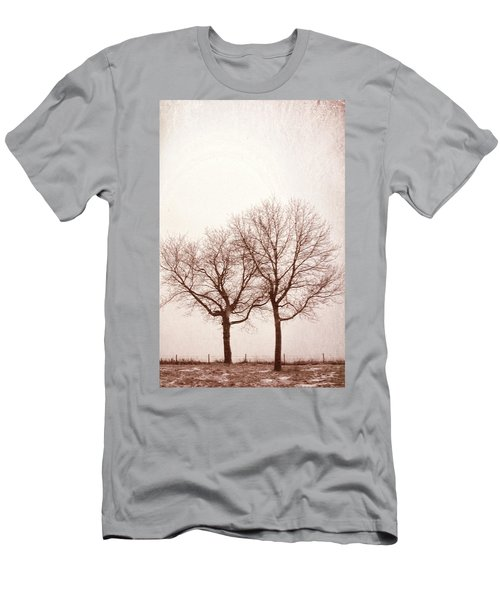 Two Trees#1 Men's T-Shirt (Slim Fit) by Susan Crossman Buscho