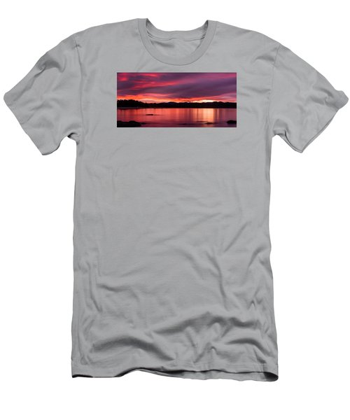 Twofold Bay Sunset Men's T-Shirt (Athletic Fit)