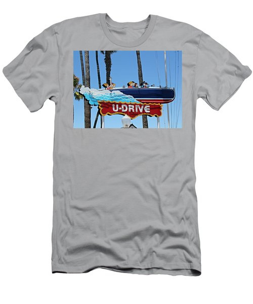 U-drive Boat Sign Men's T-Shirt (Athletic Fit)