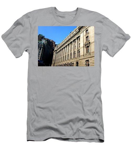 U S Custom House 1 Men's T-Shirt (Slim Fit) by Randall Weidner