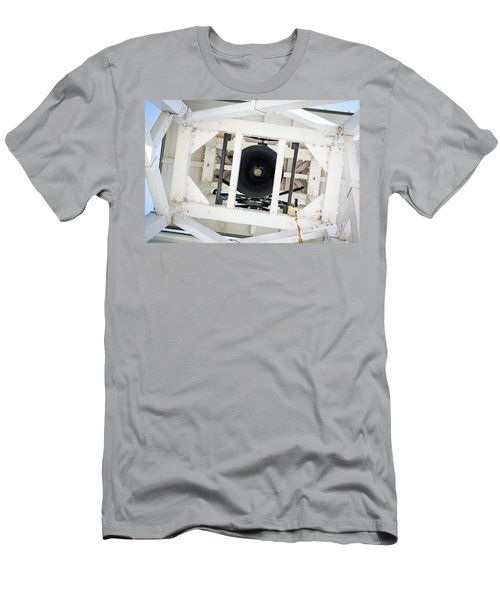 Men's T-Shirt (Slim Fit) featuring the photograph Uga Chapel Bell by Parker Cunningham
