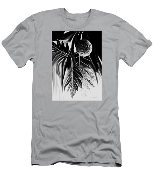 Ulu - Breadfruit Abstract Men's T-Shirt (Athletic Fit)