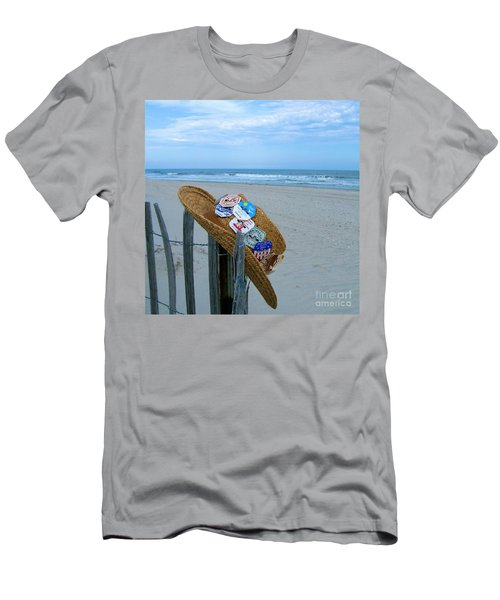 Uncle Carl's Beach Hat Men's T-Shirt (Athletic Fit)