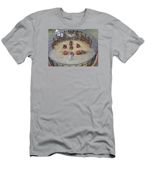 Under The Big Top Men's T-Shirt (Slim Fit) by Jewels Blake Hamrick