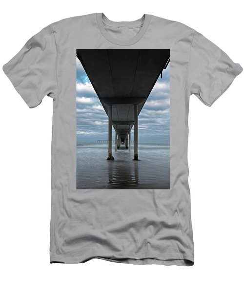 Under The Ocean Beach Pier San Diego Early Morning Men's T-Shirt (Athletic Fit)