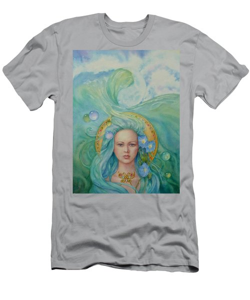 Under The Waves Men's T-Shirt (Athletic Fit)