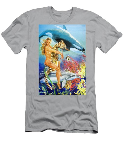 Undersea Fantasy Men's T-Shirt (Athletic Fit)