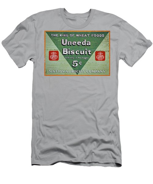 Uneeda Biscuit Vintage Sign Men's T-Shirt (Athletic Fit)