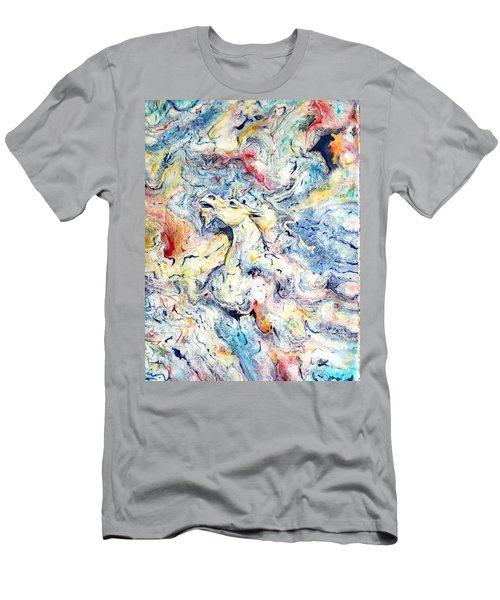 Unicorns And Rainbows  Men's T-Shirt (Athletic Fit)
