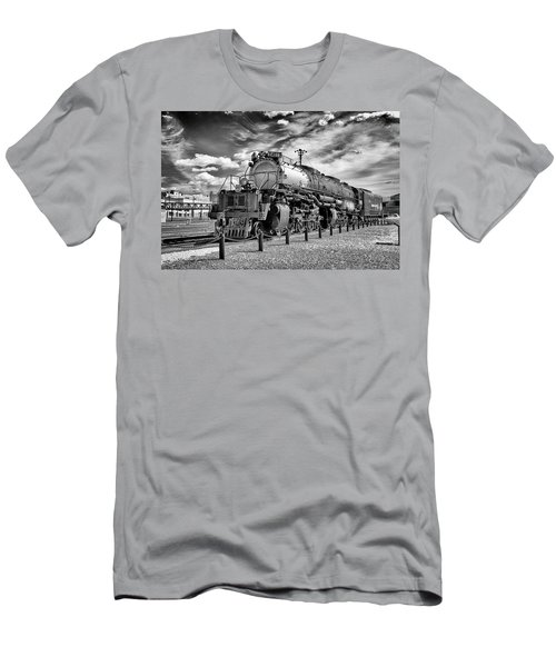 Men's T-Shirt (Slim Fit) featuring the photograph Union Pacific 4-8-8-4 Big Boy by Paul W Faust - Impressions of Light